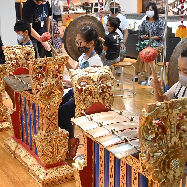 浜松市楽器博物館でのガムランワークショップ_e0017689_13160237.jpg