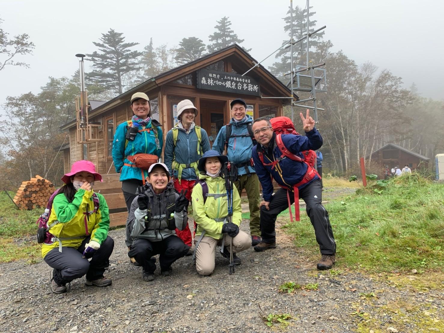 日本一早い紅葉を見に赤岳へ。奇跡のナッキーに会えました♪_d0198793_12504380.jpg
