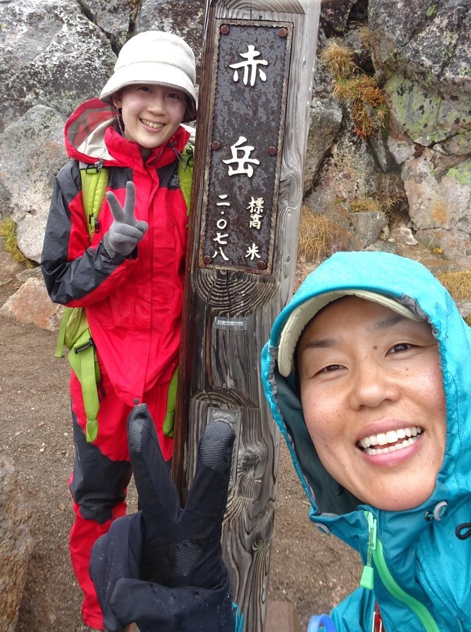 日本一早い紅葉を見に赤岳へ。奇跡のナッキーに会えました♪_d0198793_12504474.jpg