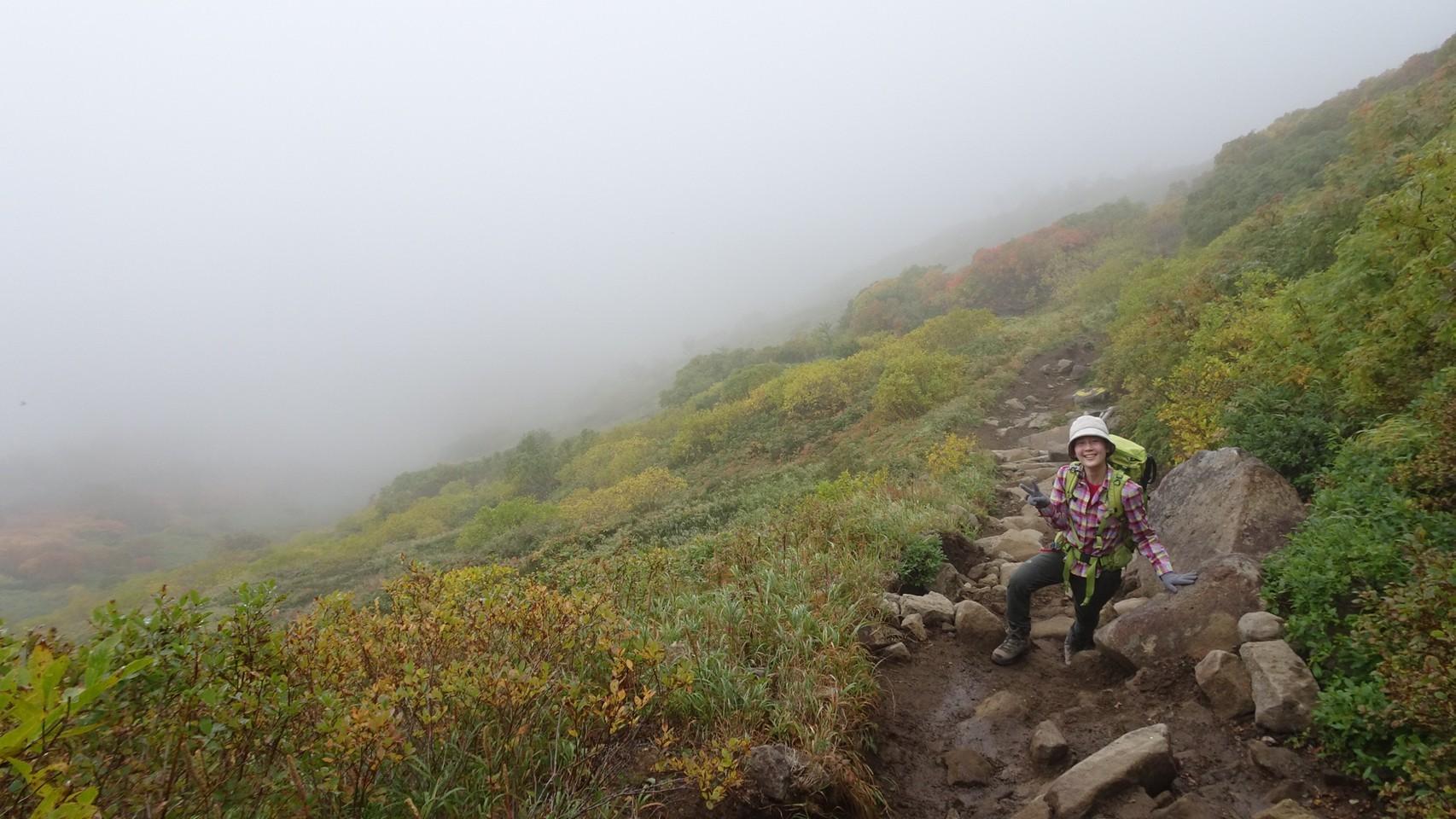 日本一早い紅葉を見に赤岳へ。奇跡のナッキーに会えました♪_d0198793_13002100.jpg