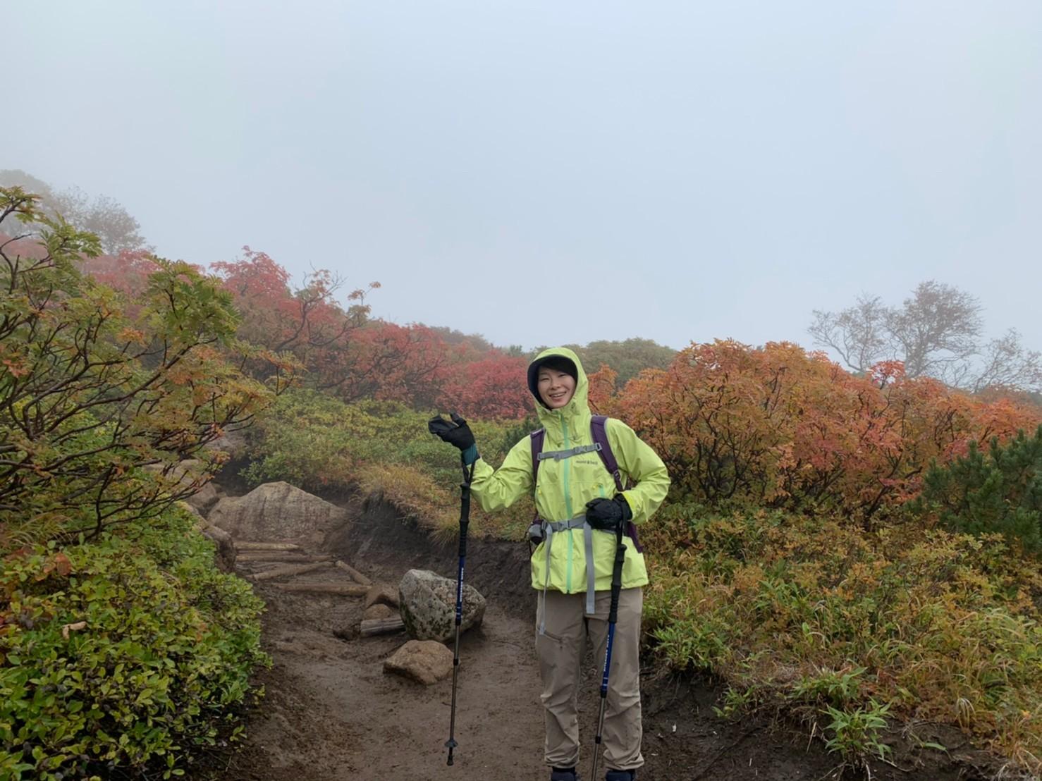 日本一早い紅葉を見に赤岳へ。奇跡のナッキーに会えました♪_d0198793_13024090.jpg
