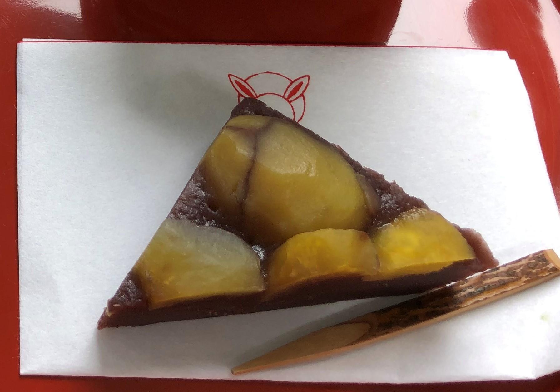 栗菓子食べながら タバコの値上げに気づく_a0346704_14402612.jpg