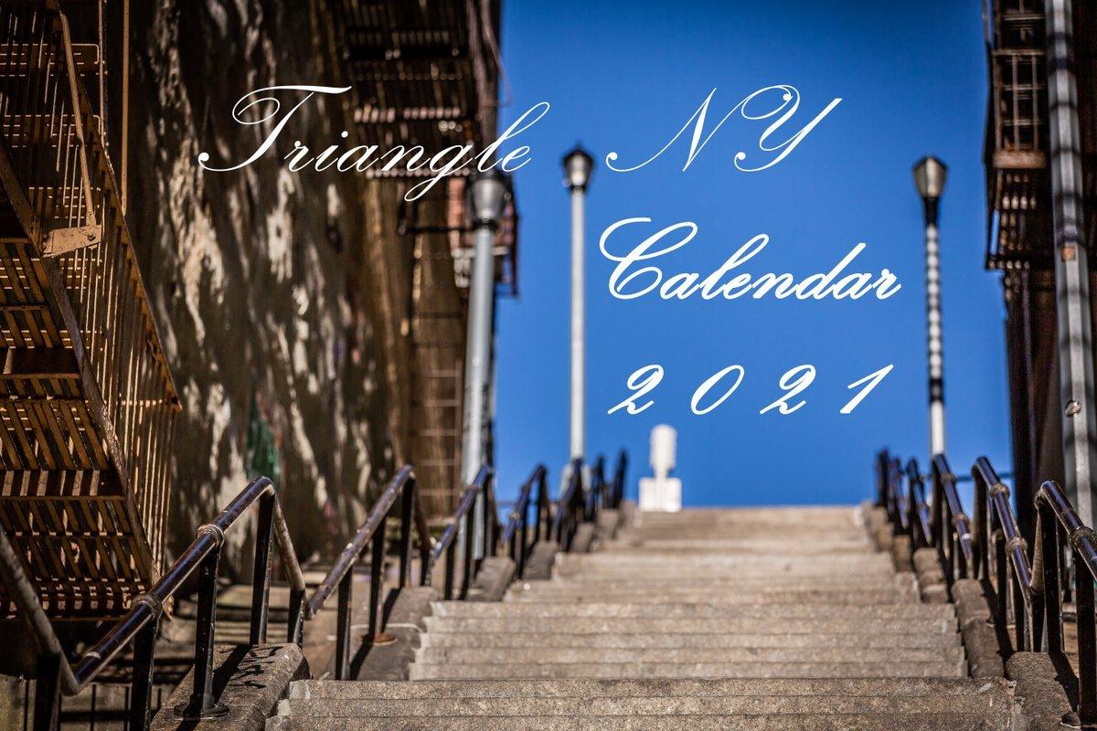 Triangle NY 2021年 カレンダーのお知らせ_a0274805_05112478.jpg