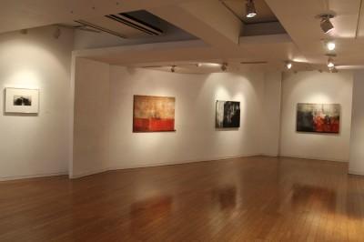 ギャラリーで鈴木聖峯展始まる_d0178431_23500687.jpg