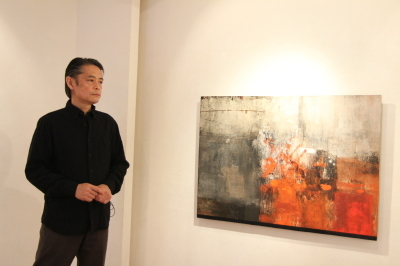 ギャラリーで鈴木聖峯展始まる_d0178431_23503328.jpg