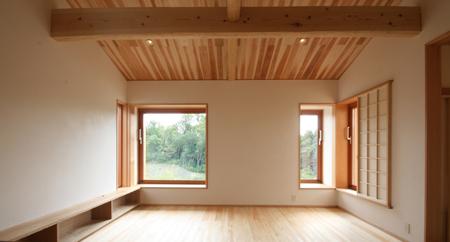 緑と景色を楽しむ自然素材の平屋の家 完成見学会_e0134452_12350195.jpg