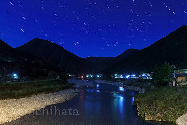 銚子川と星空_b0186680_13012656.jpg