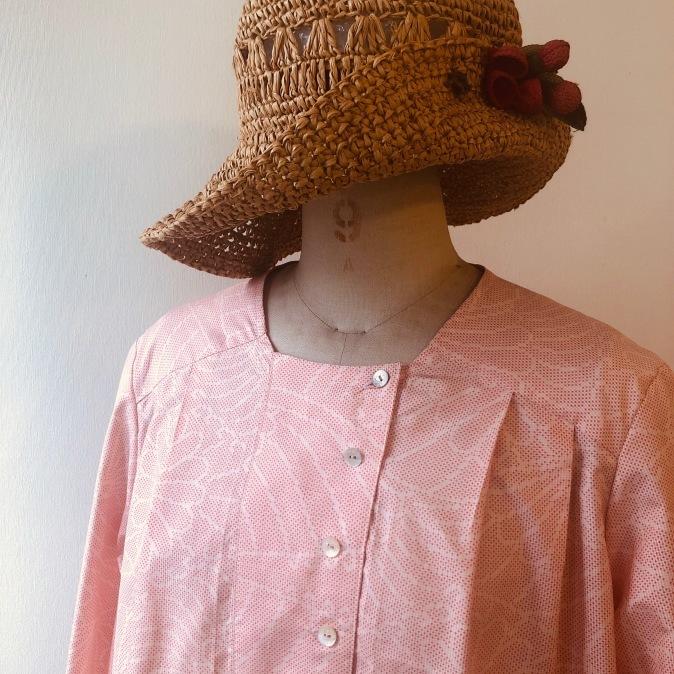 着物リメイク・大島のお着物からワンピース_d0127925_11121632.jpg