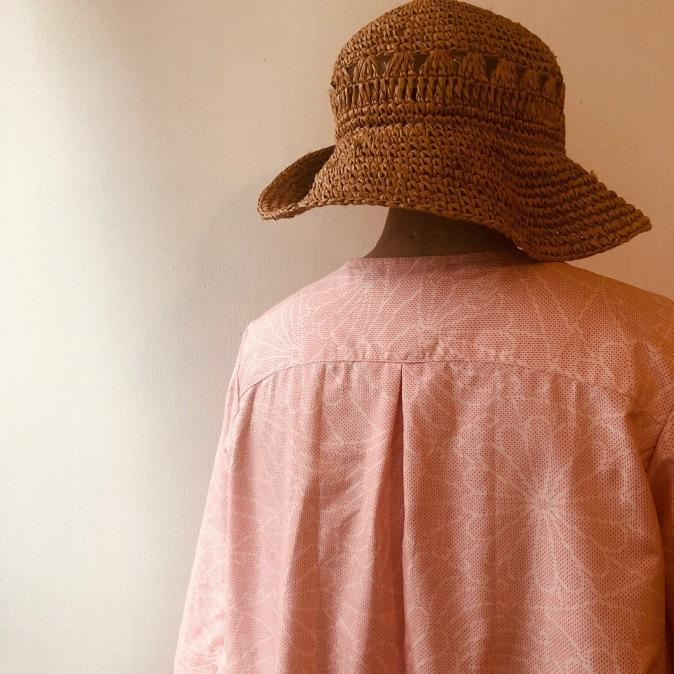 着物リメイク・大島のお着物からワンピース_d0127925_11124090.jpg