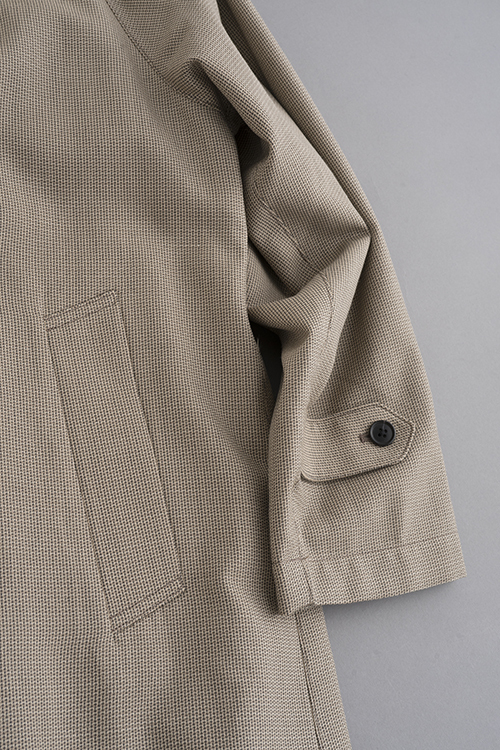 STILL BY HAND Wool Check Coat (Beige Check)_d0120442_15474210.jpg