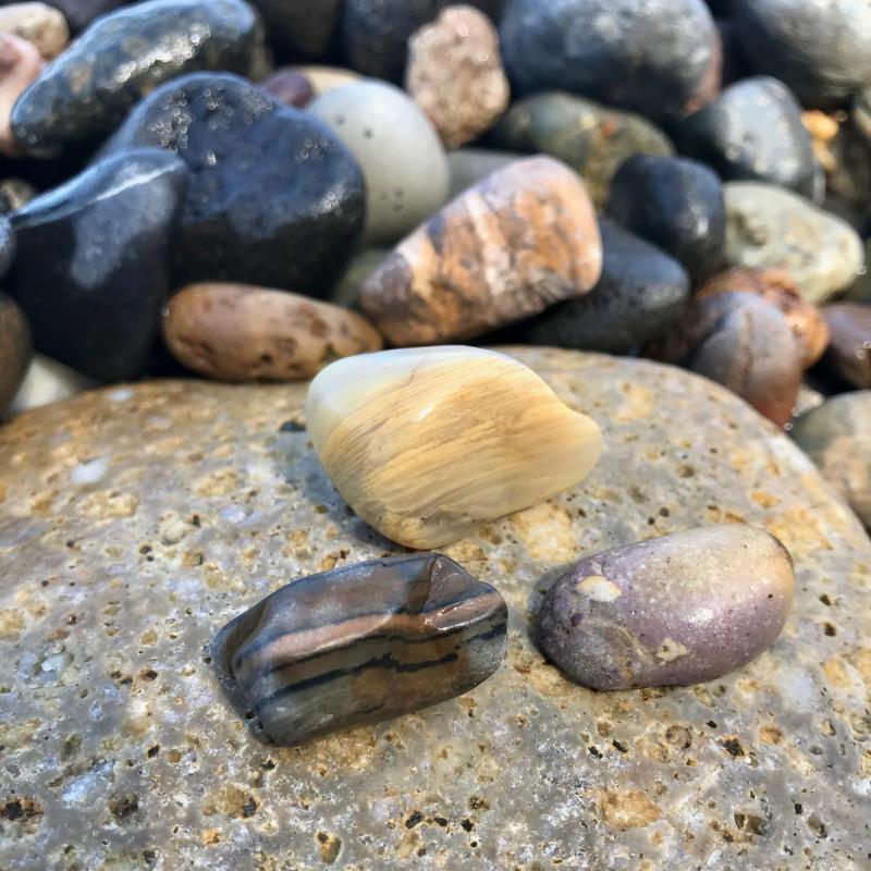 【海で拾った石】 9月最後の石拾い_f0169147_21304218.jpg