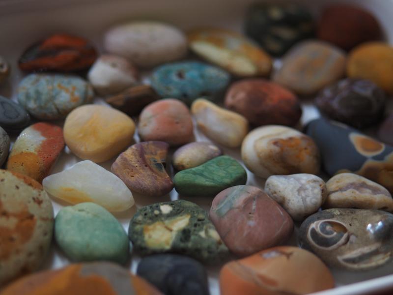 【海で拾った石】 9月最後の石拾い_f0169147_21315316.jpg