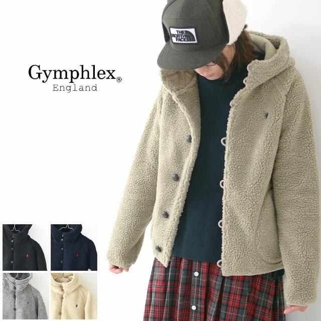 Gymphlex [ジムフレックス]W ボアパーカージャケット [J-1185PL] フリースジャケット・LADY\'S _f0051306_14455600.jpg