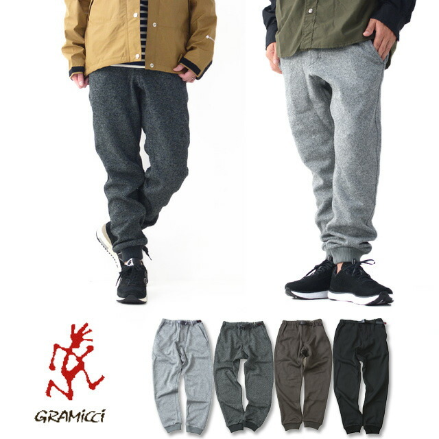 GRAMICCI [グラミチ] BONDING KNIT FLEECE NARROW RIB PANTS [GUP-20F047] ニットフリース ナローリブパンツ・MEN\'S/LADY\'S _f0051306_17285474.jpg