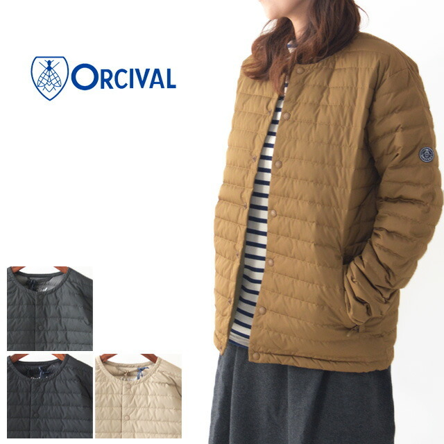 ORCIVAL[オーチバル・オーシバル] W\'s INNER DOWN JACKET [RC-8085 DPT] インナーダウン ・ライトダウン・LADY\'S_f0051306_17573584.jpg