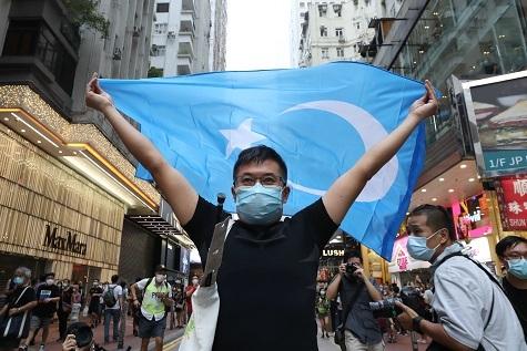 香港デモ「沒有國慶、只有港殤」_c0323257_16071025.jpg