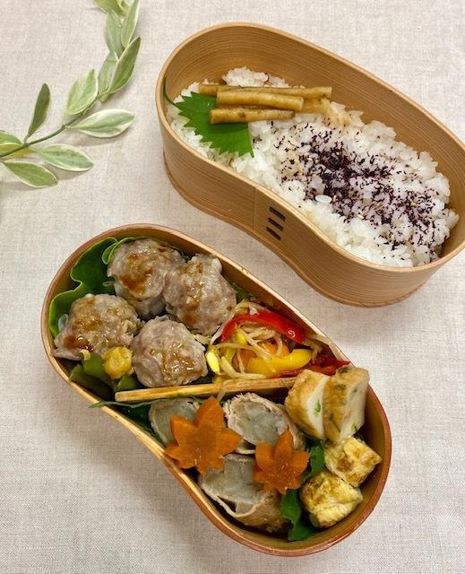 lunch box ×3 今週は3日だけ_a0165160_17474058.jpg