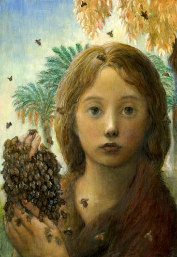 小さな幸せ🕯小さな祈り くるはらきみ 絵画世界_c0203401_00202259.jpeg