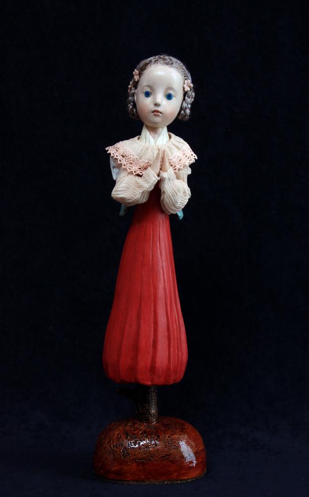 小さな幸せ🕯小さな祈り  くるはらきみ人形世界_c0203401_20444926.jpeg