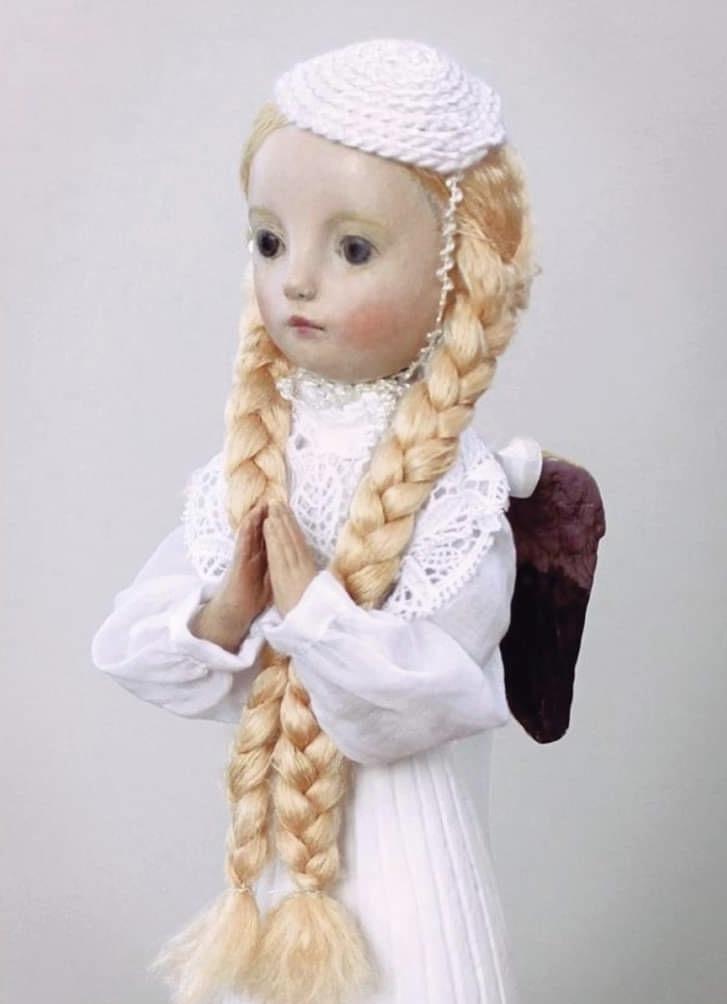小さな幸せ🕯小さな祈り  くるはらきみ人形世界_c0203401_20554684.jpeg
