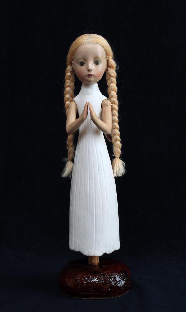 小さな幸せ🕯小さな祈り  くるはらきみ人形世界_c0203401_20565309.jpeg