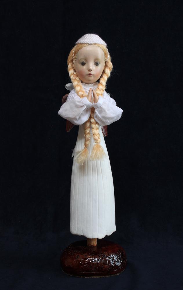 小さな幸せ🕯小さな祈り  くるはらきみ人形世界_c0203401_21002264.jpeg