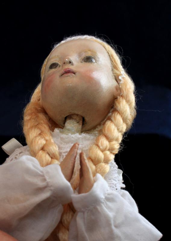 小さな幸せ🕯小さな祈り  くるはらきみ人形世界_c0203401_21213278.jpeg