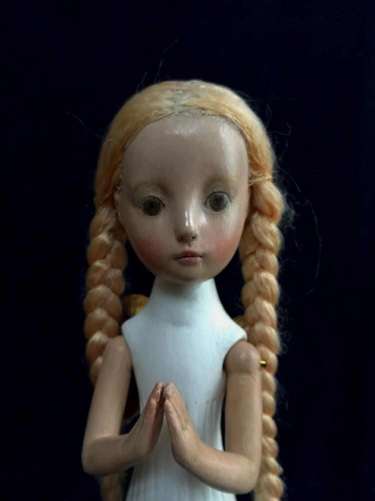 小さな幸せ🕯小さな祈り  くるはらきみ人形世界_c0203401_21222124.jpeg