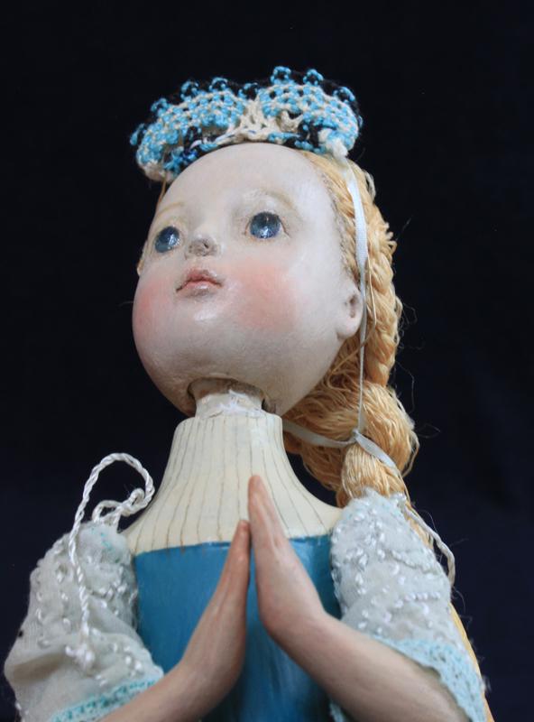 小さな幸せ🕯小さな祈り  くるはらきみ人形世界_c0203401_21323144.jpeg