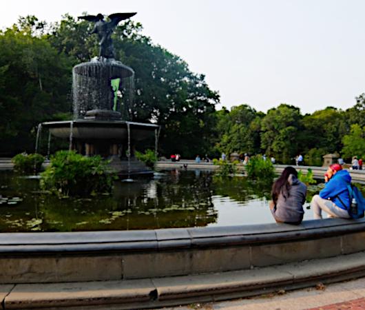コロナ禍のセントラルパーク、お散歩風景(大切なトレイ情報も)_b0007805_02182966.jpg