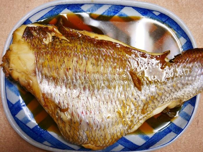 鯛の甘辛煮  2020-10-04 00:00_b0093754_22110241.jpg