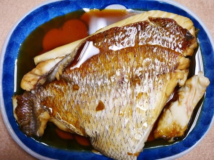 鯛の甘辛煮  2020-10-04 00:00_b0093754_22111249.jpg