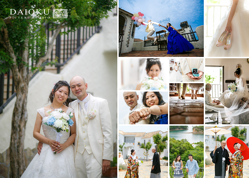 結婚式の前撮り 志摩地中海村にて_c0224169_16365730.jpg