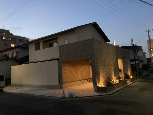 外部照明 @飯倉の家_c0164996_10403269.jpg