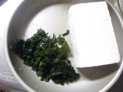 豆腐とワカメのチヂミ_b0198109_19494751.jpg