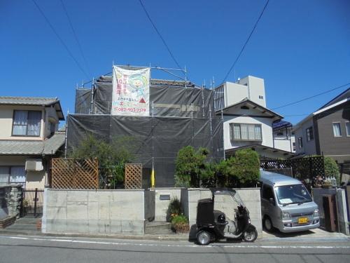 H様邸(佐伯区屋代)外壁塗装工事_d0125228_08131389.jpg