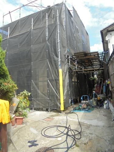H様邸(佐伯区屋代)外壁塗装工事_d0125228_08133046.jpg