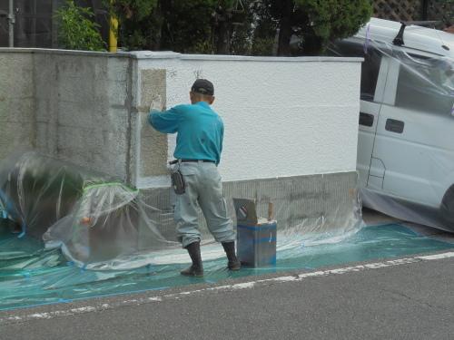 H様邸(佐伯区屋代)外壁塗装工事_d0125228_08150350.jpg