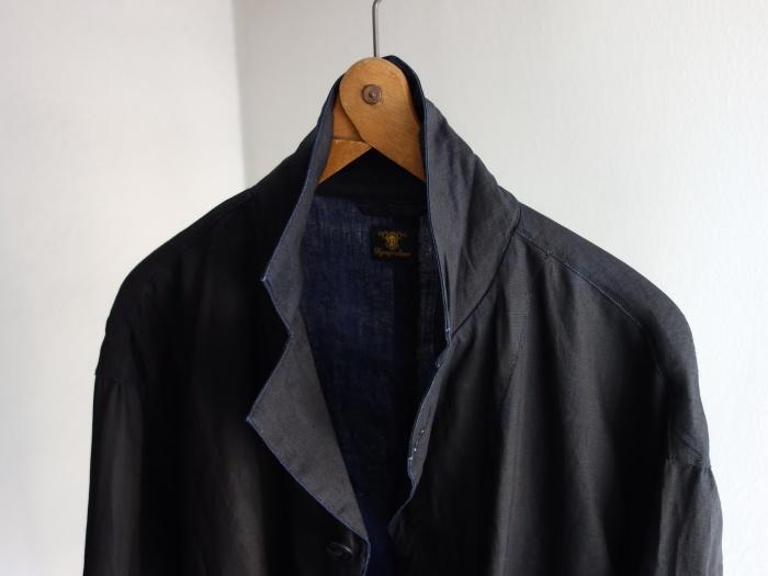 12月の製作 / DA maquignon indigolinen coat_e0130546_12151918.jpg