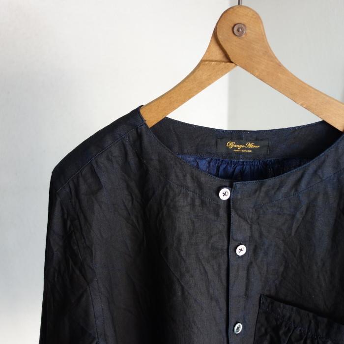 12月の製作 / classic german indigolinen shirt_e0130546_12173865.jpg