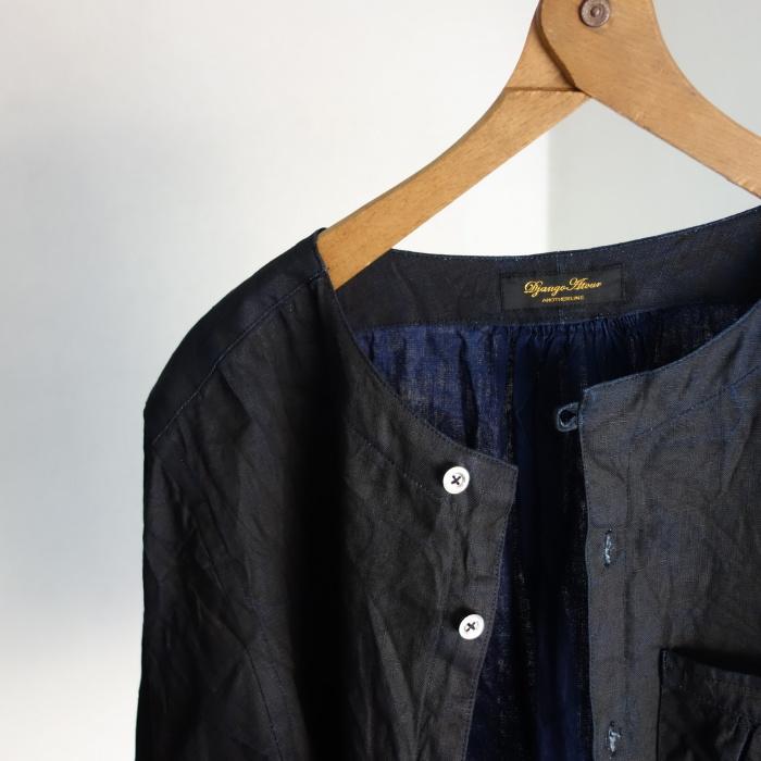 12月の製作 / classic german indigolinen shirt_e0130546_12502875.jpg