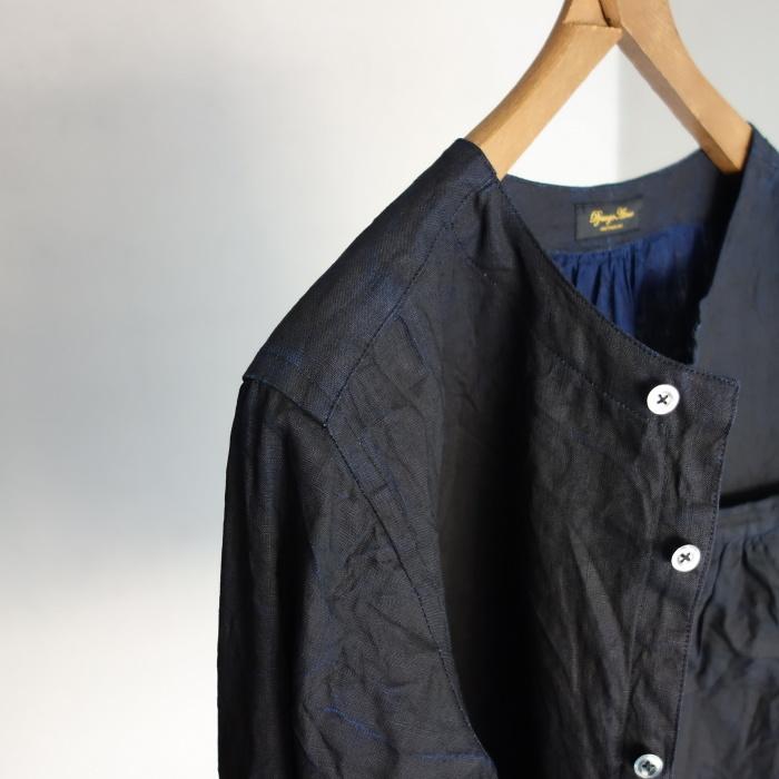 12月の製作 / classic german indigolinen shirt_e0130546_12510898.jpg