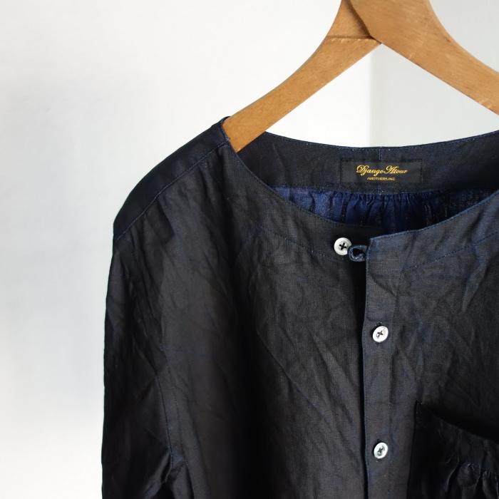 12月の製作 / classic german indigolinen shirt_e0130546_12512880.jpg