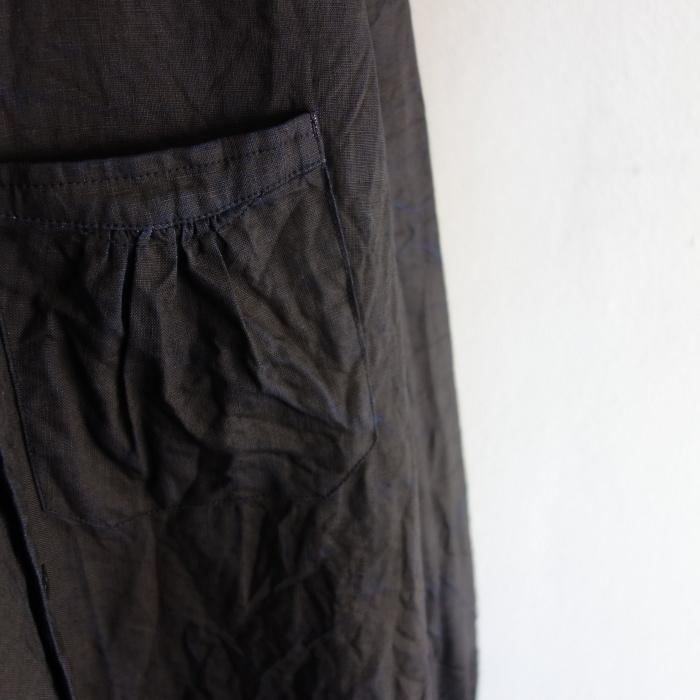 12月の製作 / classic german indigolinen shirt_e0130546_12515093.jpg