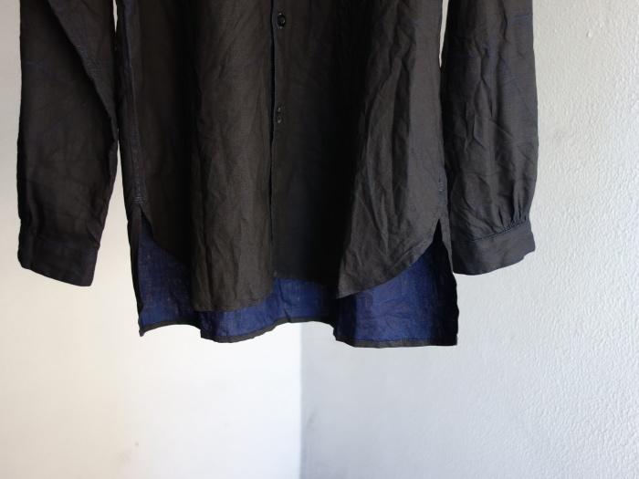 12月の製作 / classic german indigolinen shirt_e0130546_12530413.jpg