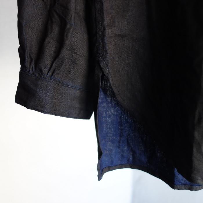 12月の製作 / classic german indigolinen shirt_e0130546_12532985.jpg