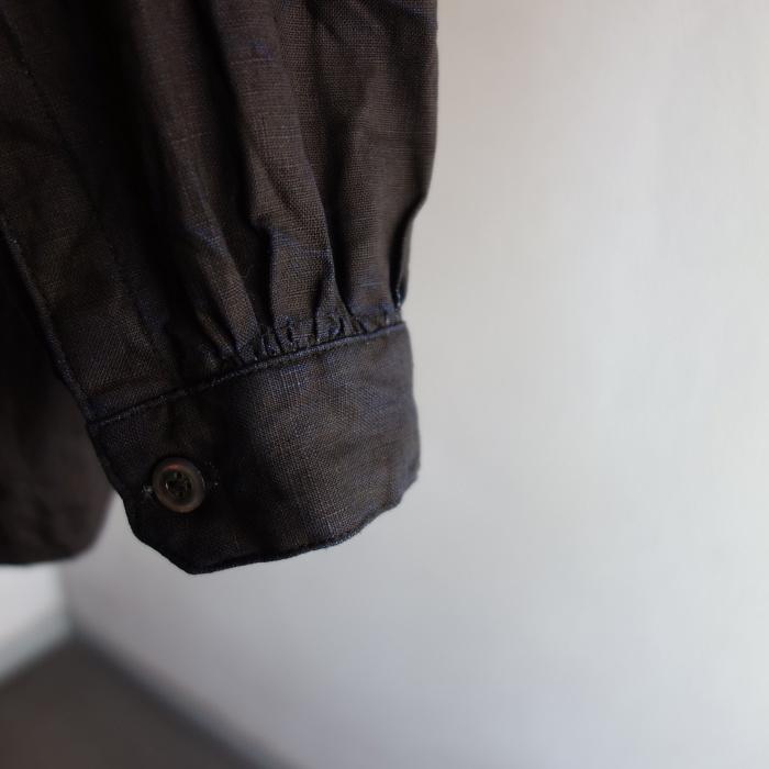 12月の製作 / classic german indigolinen shirt_e0130546_12535482.jpg
