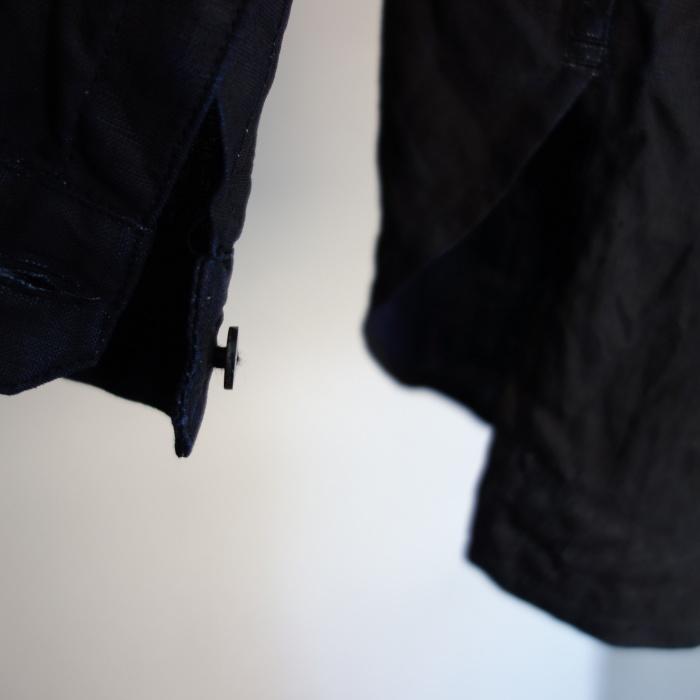12月の製作 / classic german indigolinen shirt_e0130546_12541830.jpg