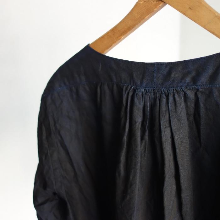 12月の製作 / classic german indigolinen shirt_e0130546_12543265.jpg