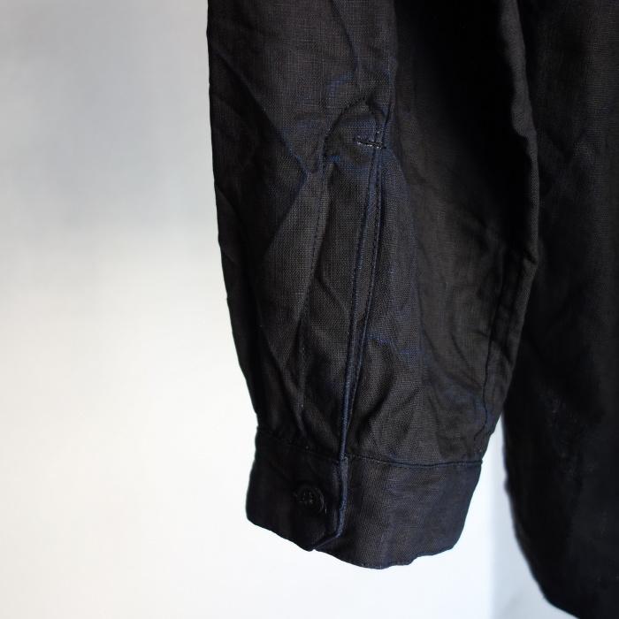 12月の製作 / classic german indigolinen shirt_e0130546_12544583.jpg